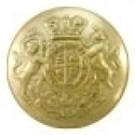 LARGE-25-mm-BRASS-UK-Victoria-Crown-General-Service-