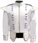White-Pipe-Band-Doublet-Silver-Piping-Silver-Buttons