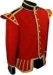 RED-SCOTTISH-DOUBLET-GOLD-PIPING-BUTTONS